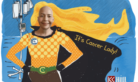 Being an icon: cancer lady