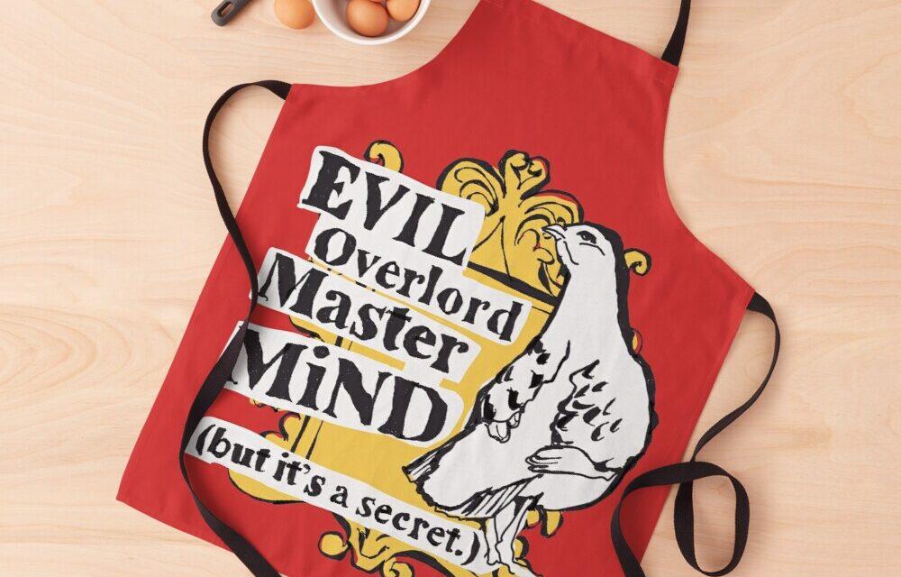 Evil Overlord Mastermind Pigeon