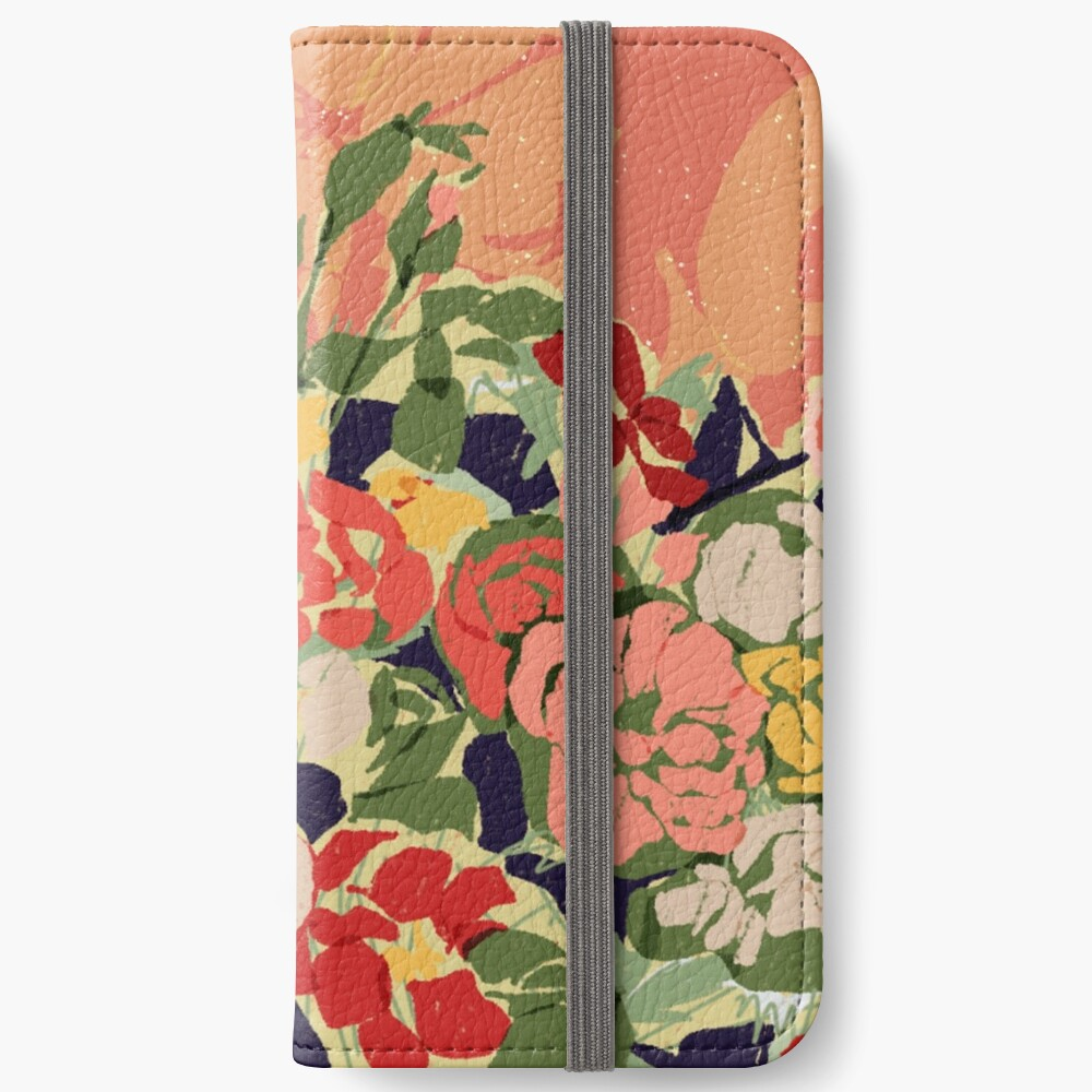 Flowers iPhone wallet