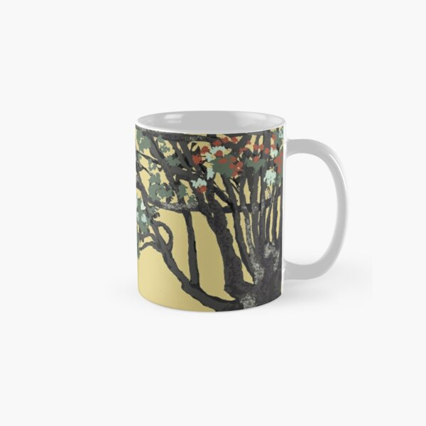 Celtic Trees of Life by KC Hill on Mug